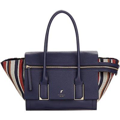 Fiorelli Soho Large Shoulder Bag, Navy Weave