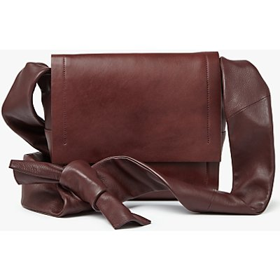 Modern Rarity Carmenere Leather Across Body Bag