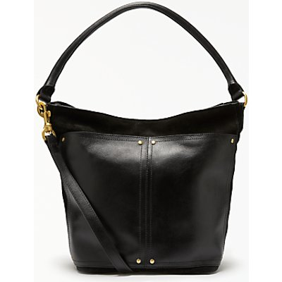 John Lewis Aurora Leather Small Shoulder Bag