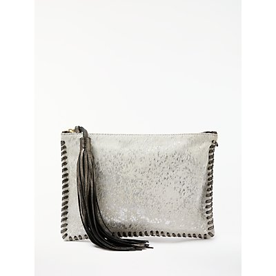 AND/OR Maya Leather Pouch Clutch Bag