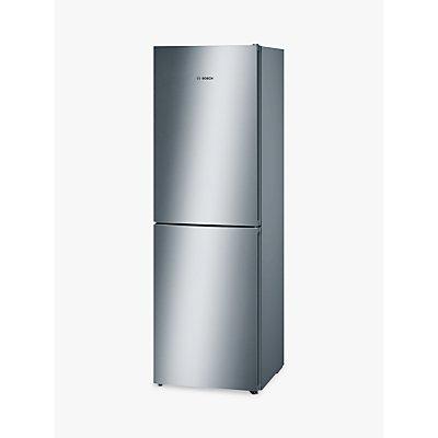 Bosch KGN34VL35G Freestanding Fridge Freezer, A+ Energy Rating, 60cm Wide, Stainless Steel Look