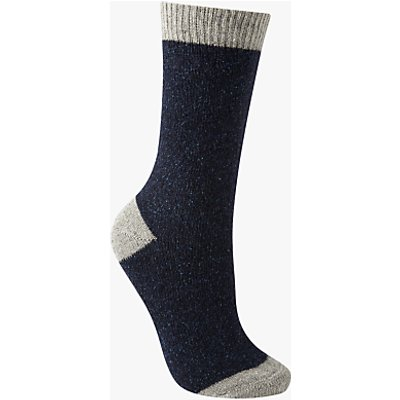 John Lewis Wool and Silk Blend Ankle Socks