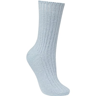 John Lewis Cashmere Bed Socks, One Size
