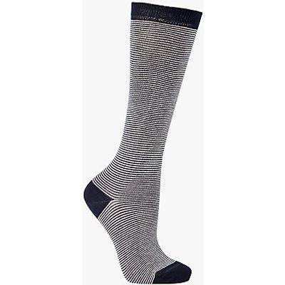 John Lewis Feeder Stripe Knee High Socks