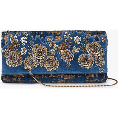 John Lewis Fortunni Clutch Bag, Multi