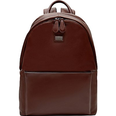 Ted Baker Panthr Leather Backpack  Tan - 5054786992153