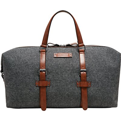 Ted Baker Tailor Canvas Holdall  Grey - 5054787561785