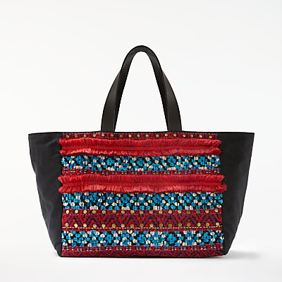 AND/OR Atala Embellished East/West Tote Bag, Multi