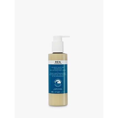 REN Atlantic Kelp And Magnesium Salt Anti-Fatigue Body Cream, 200ml