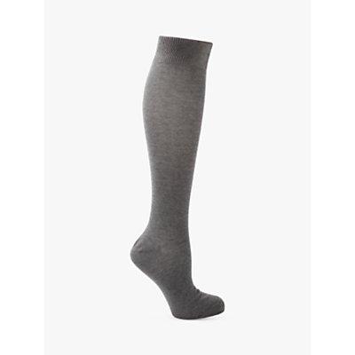 John Lewis Cotton Rich Knee High Socks