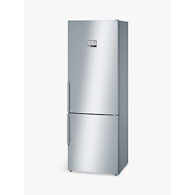 Bosch KGN49AI30G Freestanding Fridge Freezer, A++ Energy Rating, 70cm Wide, Silver