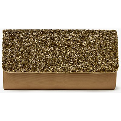 John Lewis Isla East / West Beaded Clutch Bag