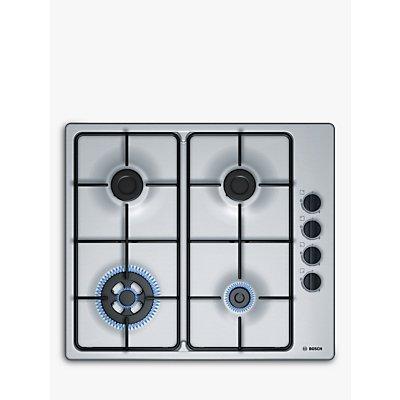 4242002834238 | Bosch PBH6B5B80 4 Burner Gas Hob   Stainless Steel Store