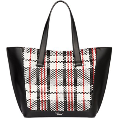 Fiorelli Tisbury Large Tote Bag, Graphic Mono Check