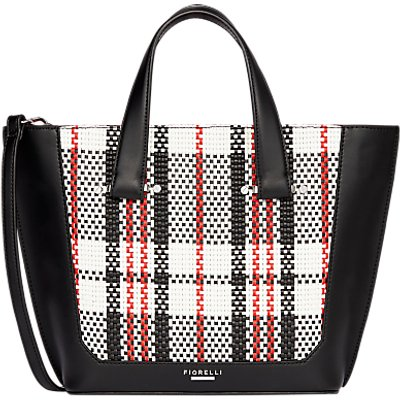 Fiorelli Tisbury Mini Tote Bag, Mono Check