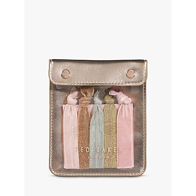 Ted Baker Hair Ribbons In Pouch, Pack of 5
