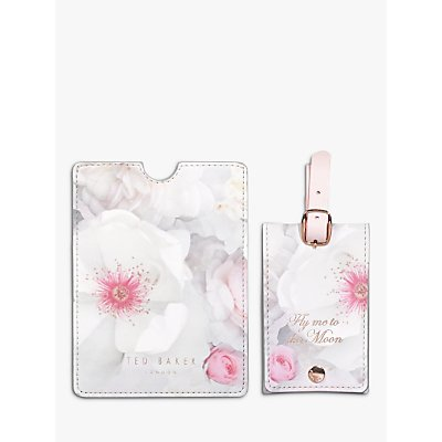 Ted Baker Chelsea Luggage Tag   Passport Set - 5055923730416