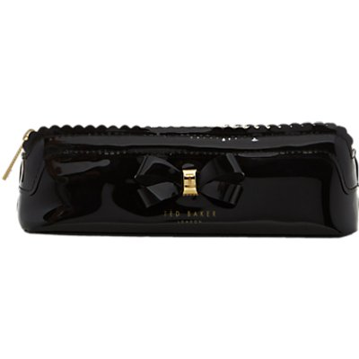 5054787572316 | Ted Baker Bow detail pencil case Black Store