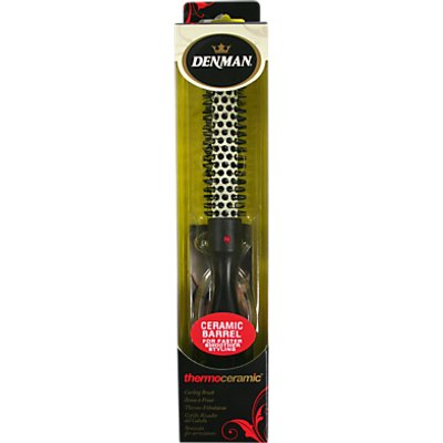 Denman Small 16ml Ceramic Barrel Hot Curling Brush