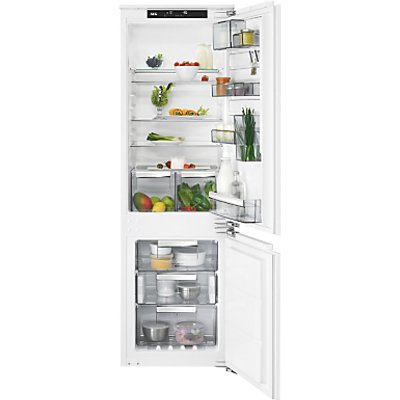 AEG SCE81824NC Integrated Fridge Freezer, A++ Energy Rating, 56cm Wide, White