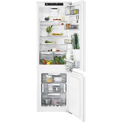 AEG SCE81864TC Integrated Fridge Freezer, A+++ Energy Rating, 56cm Wide, White