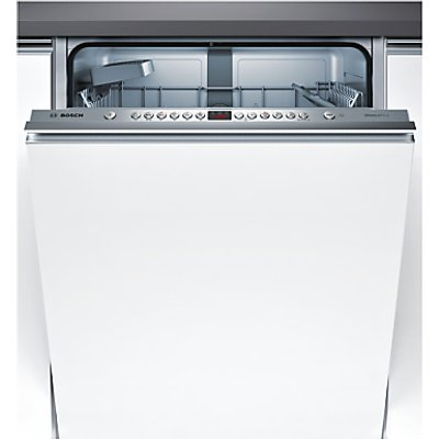 Bosch SMV46IX00G Integrated Dishwasher, Brushed Steel