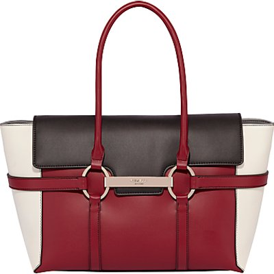 Fiorelli Barbican Large Flapover Colour Block Tote Bag