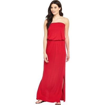 V By Very Bandeau Jersey Maxi Dress