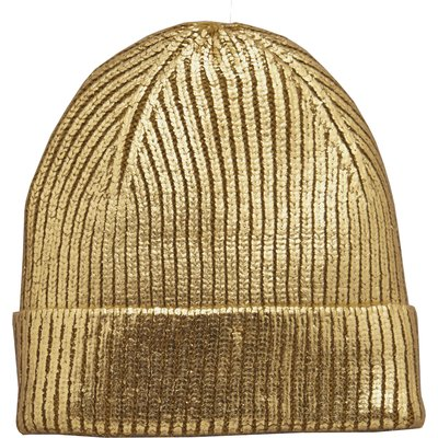 V By Very Metallic Beanie