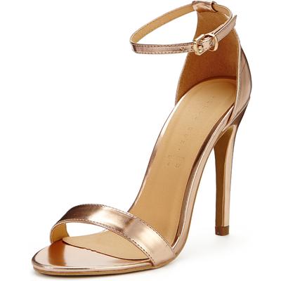 Shoe Box Isabella Minimal Ankle Strap Heeled Sandals