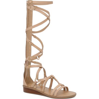 Aldo Gladia Leather Knee Gladiator Sandals