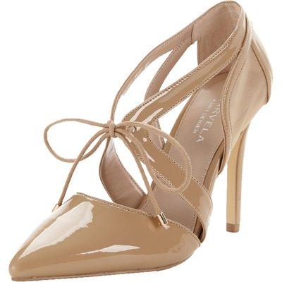 Carvela Loopy Mesh Tie Court Shoes