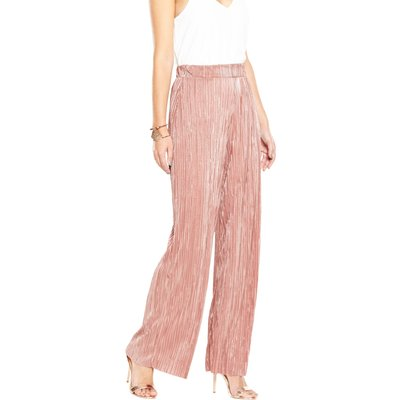 V By Very Plisse Wide Leg Trousers