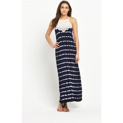 V by Very Lace Tie Dye Maxi Dress