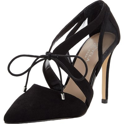Carvela Loopy Mesh Tie Court Shoes