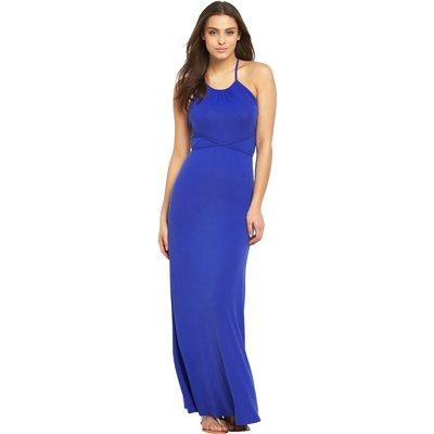 V By Very Cross Back Wrap Around Jersey Maxi Dress