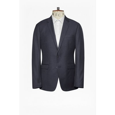 Classic Twill Suit Jacket - navy