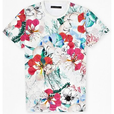 Floral Reef T-Shirt - summer white