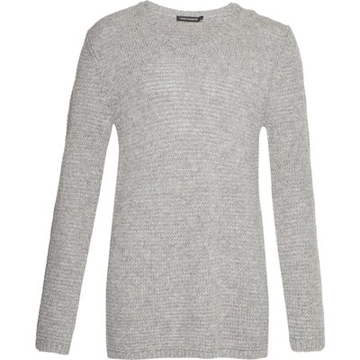 Loose Stitch Alpaca Mix Jumper - grey melange