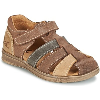 Citrouille et Compagnie  FRINOUI  boys's Children's Sandals in brown