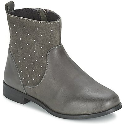 Citrouille et Compagnie  BANMAL  girls's Children's Mid Boots in grey