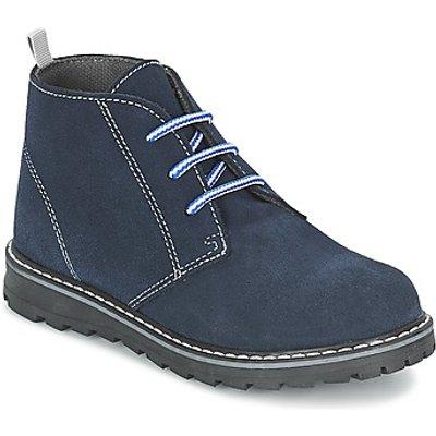 Citrouille et Compagnie  LEQUIN  boys's Children's Mid Boots in blue