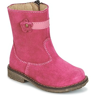 Citrouille et Compagnie  PISTY  girls's Children's Mid Boots in pink
