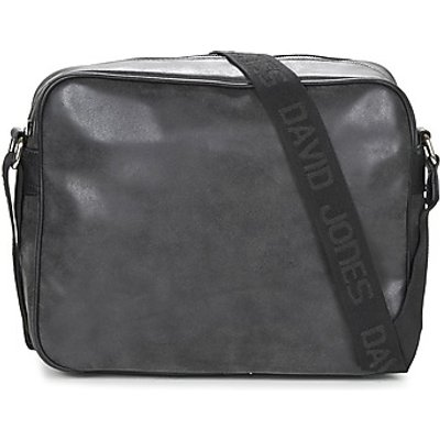 David Jones  CHAMIL  men's Messenger bag in black