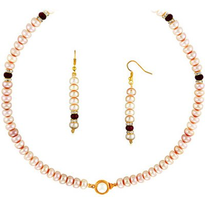 Fashionvictime  Set For Woman By  - 18Ct Gold Plated - Cubic Zirconia, Agate - C  women's Jewellery