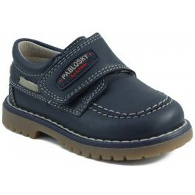 Pablosky  TOMCAT NAUTICAL  boys's Children's Shoes (Trainers) in blue
