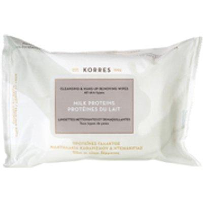 KORRES Milk Proteins Cleansing Wipes - All Skin Types (25 Wipes)