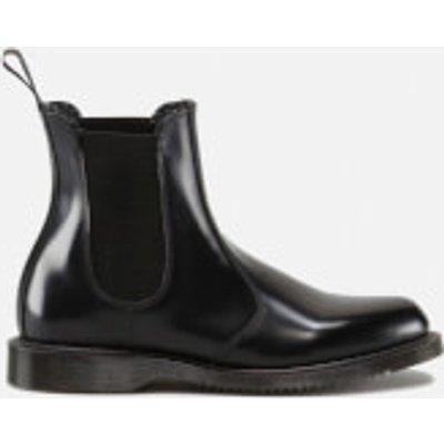 Dr. Martens Women's Kensington Flora Polished Smooth Leather Chelsea Boots - Black - UK 3 - Black
