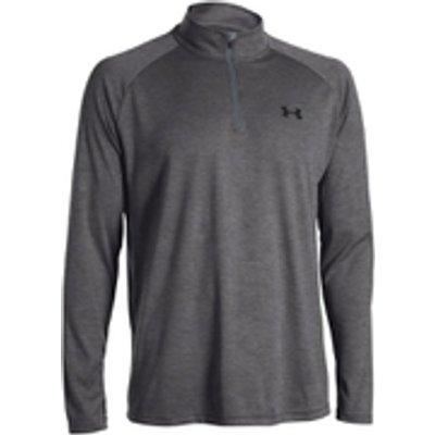 Under Armour Men's Tech 1/4 Zip Long Sleeve Top - Grey - M - Grey