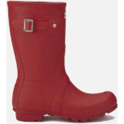Hunter Women's Original Short Wellies - Military Red - UK 8 - Red